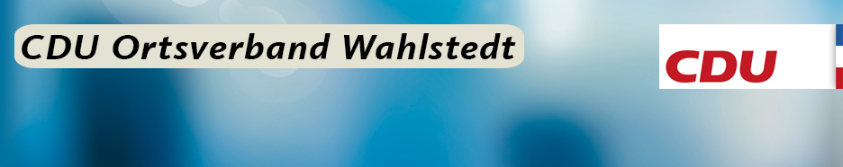 CDU Ortsverband Wahlstedt